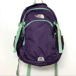 The North Face Rhyolite Purple Womens Backpack